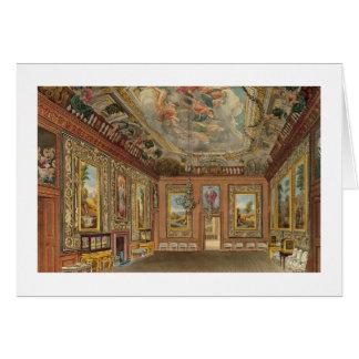 La sala de estar de la reina, castillo de Windsor, Tarjeta De Felicitación