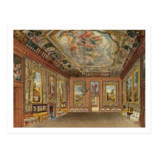 La sala de estar de la reina, castillo de Windsor, Tarjeta Postal