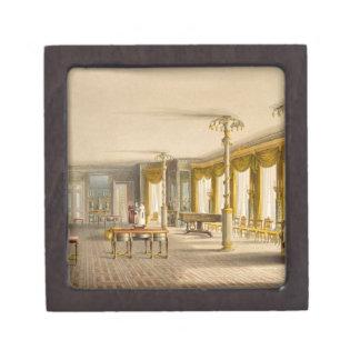 La sala de estar del norte o galería del sitio de caja de joyas de calidad