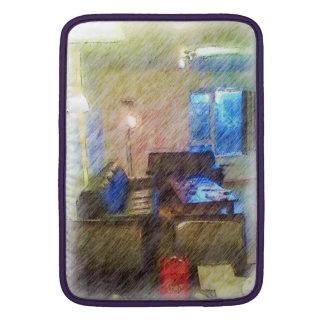 La sala de estar funda para macbook air