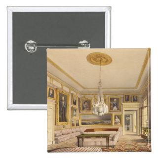La sala de estar rayada, casa de Apsley, 1853 (pri Pin Cuadrada 5 Cm