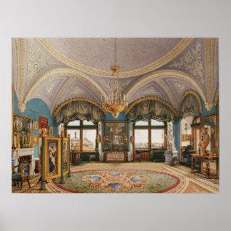 La sala de la esquina del emperador Nicolás I Posters
