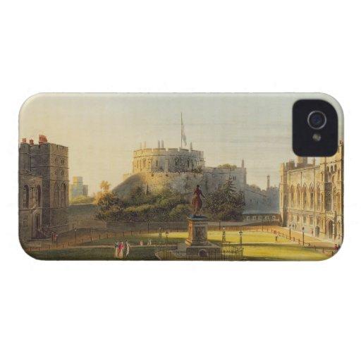 La sala superior, castillo de Windsor, de 'real iPhone 4 Case-Mate Protectores
