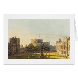 La sala superior, castillo de Windsor, de 'real re Tarjeta De Felicitación
