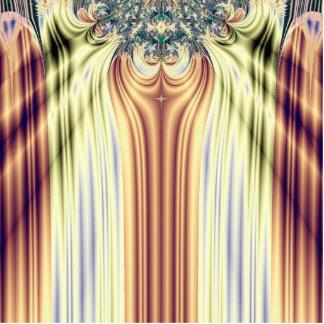La salida a escena pone de relieve fractal escultura fotográfica