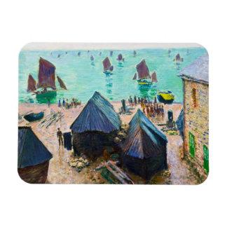 La salida de los barcos, Etretat Claude Monet Iman De Vinilo