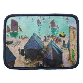 La salida de los barcos, Etretat Claude Monet Planificador