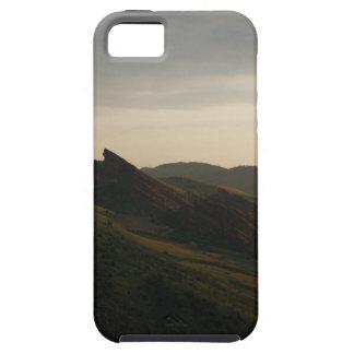 La salida del sol en el rojo oscila Colorado Funda Para iPhone SE/5/5s