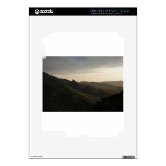 La salida del sol en el rojo oscila Colorado iPad 3 Pegatinas Skins