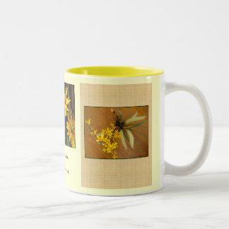 La salida del sol florece cerca gretchen la taza