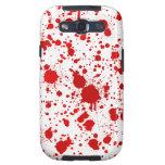 La salpicadura… Dexter de la sangre mataría para e Galaxy SIII Coberturas
