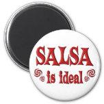 La salsa es ideal imanes para frigoríficos