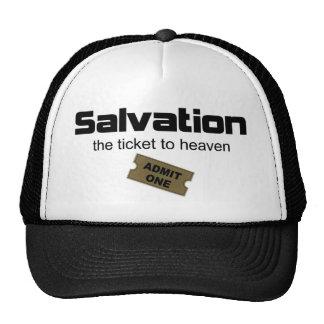 La salvación es el único boleto al cielo gorro de camionero