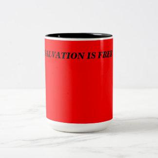 La salvación es taza libre