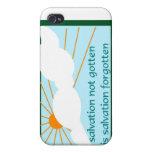 La salvación no conseguida es salvación olvidada iPhone 4 cobertura