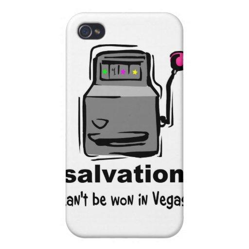 La salvación no se puede ganar en la máquina traga iPhone 4 protector