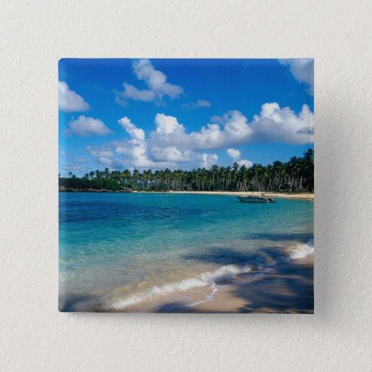 La Samana Peninsula, Dominican Republic, 2 Button