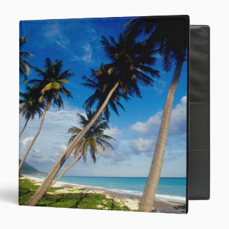 La Samana Peninsula, Dominican Republic, Vinyl Binder