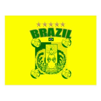 La samba Futebol del equipo de fútbol de la samba  Tarjetas Postales