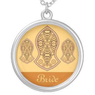 La sandalia del profeta (alheña) (naranja) collares personalizados