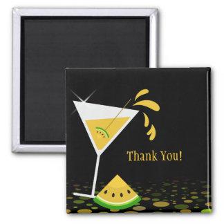 La sandía amarilla Martini le agradece imán