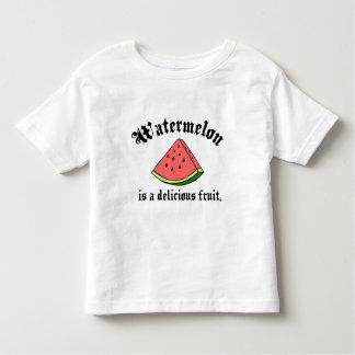 La sandía es una fruta deliciosa camisas
