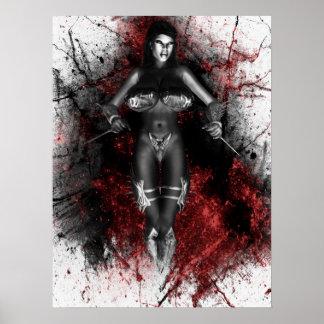 La sangre apuñala al asesino poster