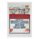 ¡La sangre británica llama sangre británica! (US02 Poster
