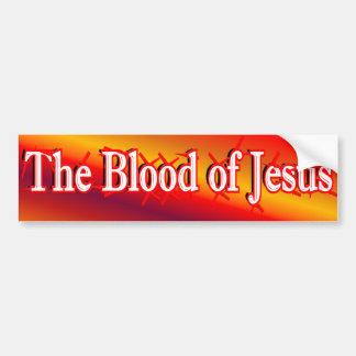 La sangre de la pegatina para el parachoques de Je Pegatina De Parachoque