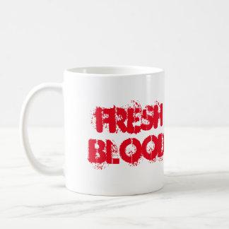 La sangre fresca de la taza de los E.E.U.U.