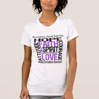 La sarcoidosis no puede tomar mi collage de la esp camisetas