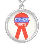 La satisfacción garantizó los collares del 100%