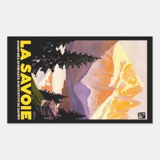 La Savoie Rectangular Sticker