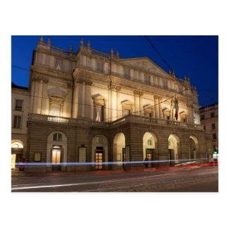 La Scala, Milan Postcard