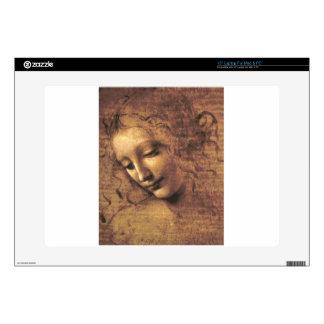 La Scapigliata by Leonardo da Vinci Laptop Decal