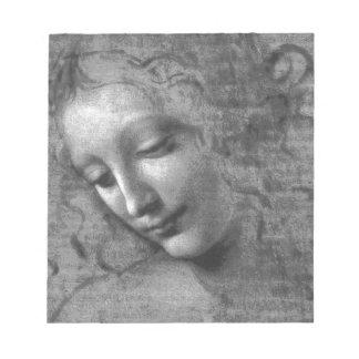 La Scapigliata by Leonardo da Vinci Notepad