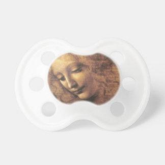 La Scapigliata by Leonardo da Vinci Pacifier