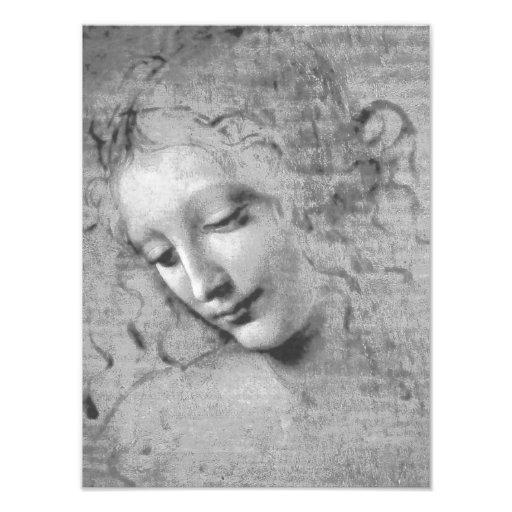 La Scapigliata by Leonardo da Vinci Art Photo