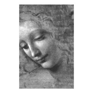 La Scapigliata by Leonardo da Vinci Stationery