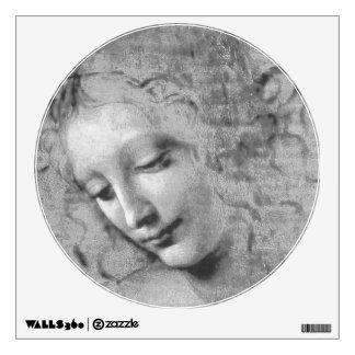 La Scapigliata by Leonardo da Vinci Wall Decal