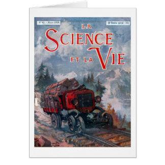 La science et la vie card