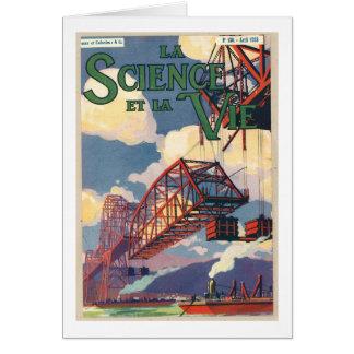 La science et la vie poster card