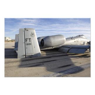 La sección de cola A-10 de un rayo II Fotografías