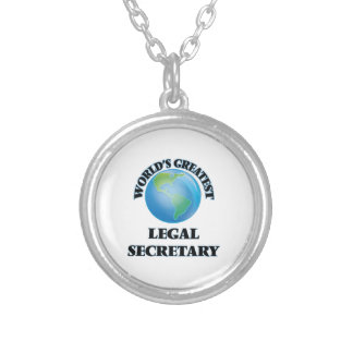 La secretaria legal más grande del mundo pendiente personalizado