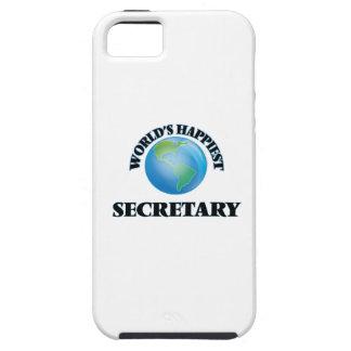 La secretaria más feliz del mundo iPhone 5 funda