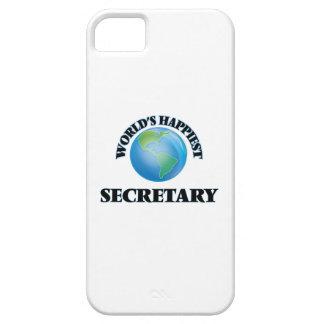 La secretaria más feliz del mundo funda para iPhone 5 barely there