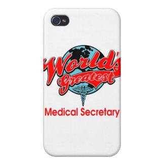La secretaria médica más grande del mundo iPhone 4 funda