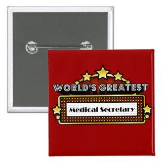 La secretaria médica más grande del mundo pin