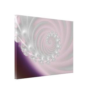 La secuencia luminosa estiró la impresión de la lo lona envuelta para galerias