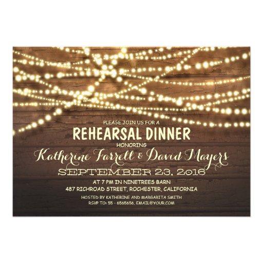 La secuencia rústica enciende la cena romántica de comunicados